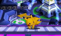 Ataque fuerte lateral Pikachu SSB4 (3DS)