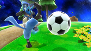 Balón en SSB4 (Wii U)