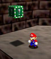 Bloque verde Super Mario 64