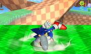 Burla inferior Sonic SSB4 (3DS)
