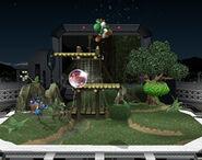 Estadio Pokémon tipo hierba