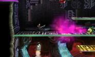 Petilil lanzando somnífero SSB4 (3DS)