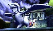 Reshiram en el Palacio de N SSB4 (3DS)