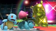 Squirtle, Ivysaur y Pikachu SSBU