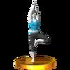 Trofeo de El árbol SSB4 (3DS)