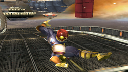 Ataque aéreo normal Captain Falcon SSBB (1)