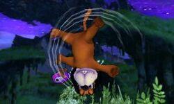 Ataque aéreo normal de Dúo Duck Hunt SSB4 (3DS)