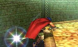Ataque de recuperación desde el borde Ike (1) SSB4 (3DS)