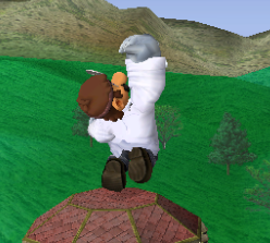 Ataque fuerte hacia arriba de Dr. Mario SSBM