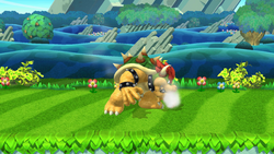Burla hacia arriba Bowser (3) SSB4 (Wii U)
