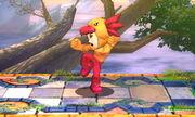 Burla superior Karateka Mii SSB4 (3DS)