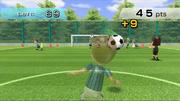Cabeceos en los ejercicios de entrenamiento en Wii Fit