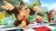 Créditos Modo Senda del guerrero Donkey Kong SSB4 (Wii U)