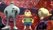 Créditos Modo Senda del guerrero Ness SSB4 (3DS)