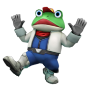 Slippy Toad Star Fox 64 3D