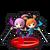 Trofeo de Kat y Ana en Mundo Smash SSB4 (Wii U)