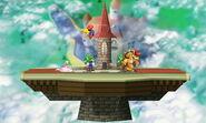 Versión omega del Castillo de Peach (64) SSB4 (3DS)