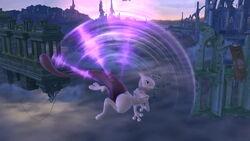 Ataque aéreo hacia arriba Mewtwo SSB4 (Wii U)