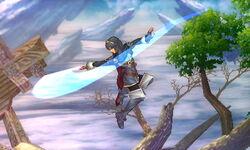 Ataque aéreo normal Lucina SSB4 (3DS)