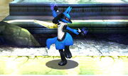 Burla inferior Lucario SSB4 (3DS)