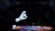 Combate contra Crazy Hand en Retos Crazy Hand SSB4 (Wii U)