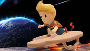 Entrada de Lucas en el Destino Final SSB4 (Wii U)