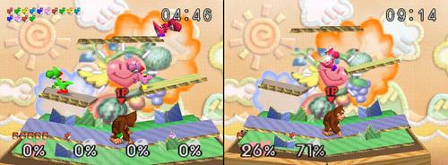 Isla de Yoshi comparaciones SSB