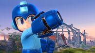 Mega Man en el Campo de batalla SSB4 (Wii U)