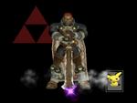 Pose de victoria Ganondorf X (2) SSBM