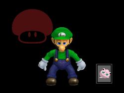 Pose de victoria Luigi X (4) SSBM