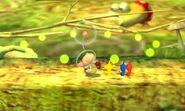 Reagrupación de pikmin SSB4 (3DS)