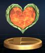 Trofeo Contenedor de corazón SSBB