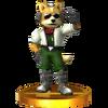 Trofeo de James McCloud SSB4 (3DS)