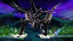 Cara Metálica Aterrizar (2) SSB4 (Wii U)