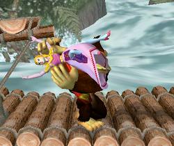 Lanzamiento hacia abajo de Donkey Kong (3) SSBM