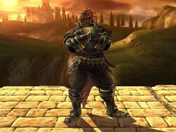 Pose de espera Ganondorf SSBB (1)