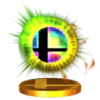Trofeo de Bola Smash SSB4 (3DS)