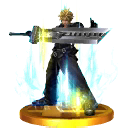 Trofeo de Cloud (alt.) SSB4 (3DS)