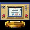 Trofeo de Oil Panic SSB4 (Wii U)