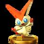 Trofeo de Victini SSB4 (Wii U)