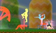Wii Fit (Smash Final) en SSB4 (3DS)