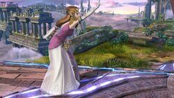 Burla hacia abajo Zelda SSB4 Wii U