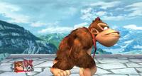 Burla lateral de Donkey Kong SSBB