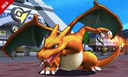 Charizard en la Torre Prisma SSB4 (3DS)