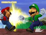 Créditos Modo Clásico Luigi SSBM