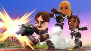 Equipo de Miis Luchadores SSB4 (Wii U)