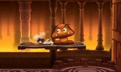 Goomba Gigante Pisotón (2) SSB4 (3DS)