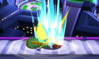 Lanzamiento inferior Pikachu SSB4 (3DS)