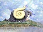 Mamufante dormido en Mar de nubes (ESE) SSBB