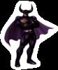 Pegatina de Black Shadow SSBB